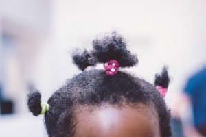 managing thick, textured African hair