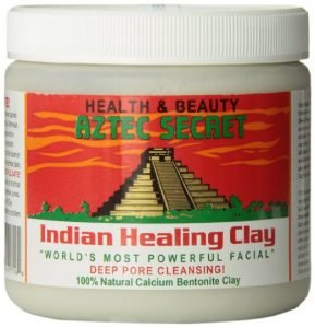 Aztec Indian healing clay for acne
