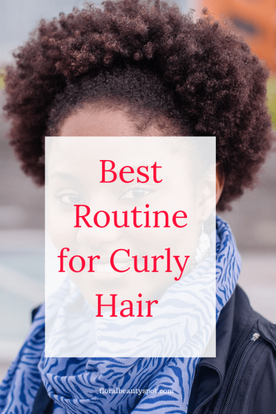 best routine for curly hair