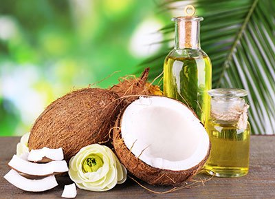 coconut oil for hair treatment