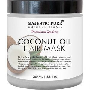 majestic pure coconut oil hair mask