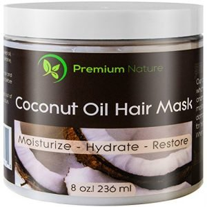 premium nature coconut oil hair mask