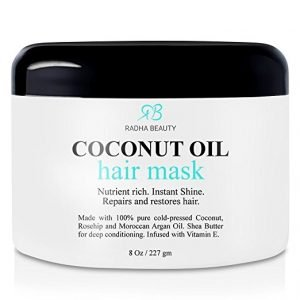 radha beauty coconut oil hair mask