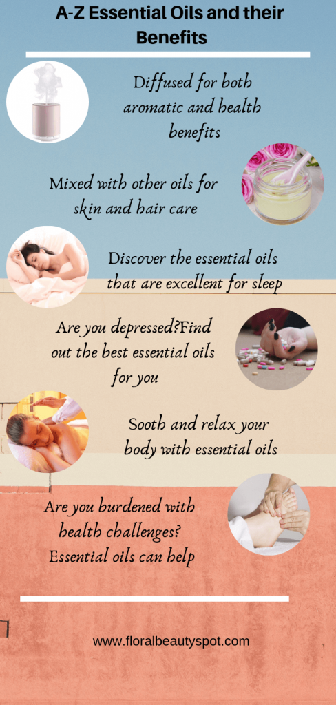 a-z essential oils and their benefits